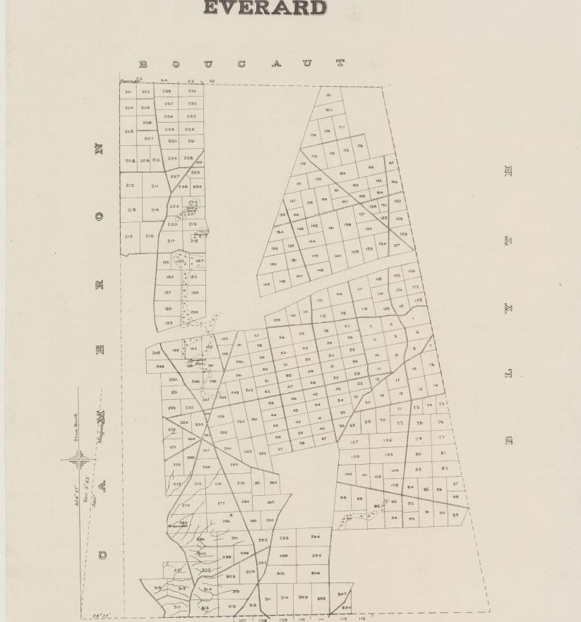 Everard Hundred Map