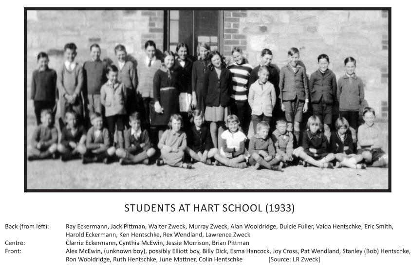 Students at Hart School 1933