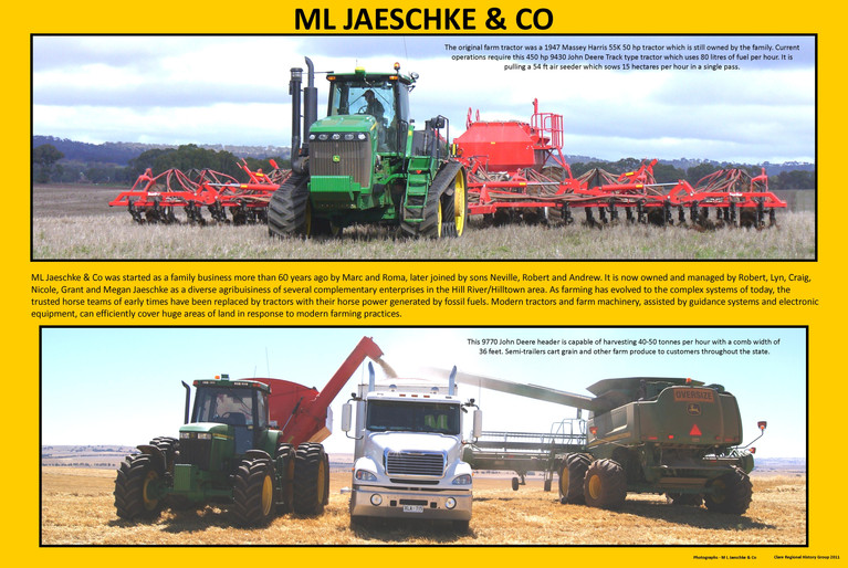 47. M L Jeaschke Modern Farm Machinery