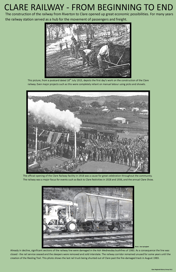 21. Railway Beginning to end Poster