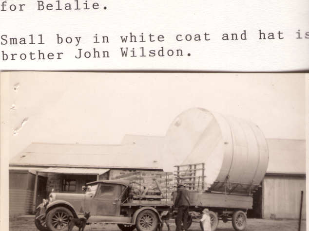 Buckboard with tank on trailer Picture10