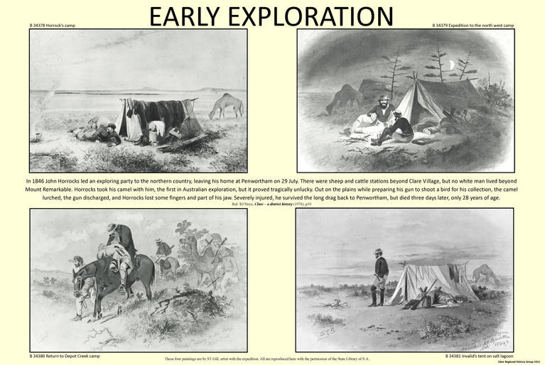 2. Early Explorers Poster