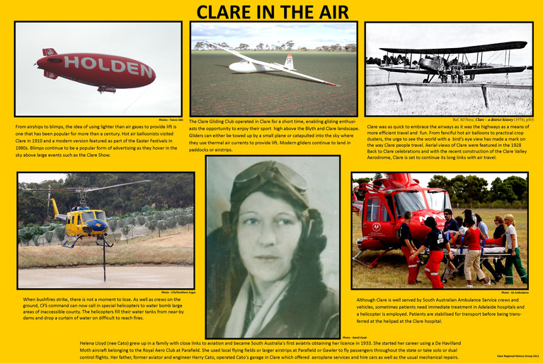 31. Clare in the air - Ballooning
