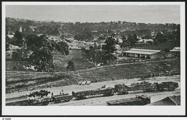 A view from the Railway Station 1918.jpe