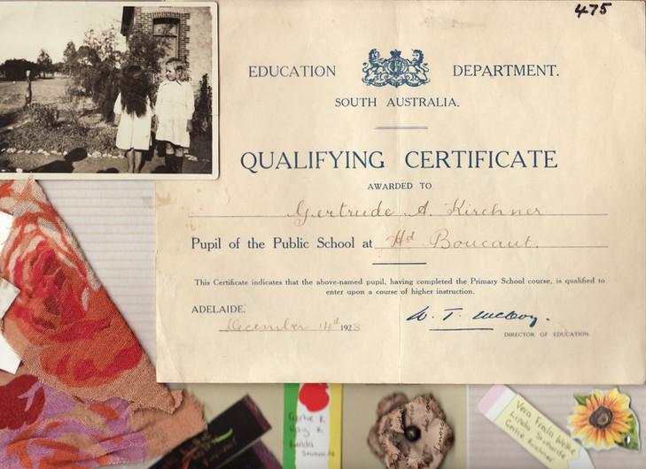 Gertrude Kirchner - Qualifying Certifica