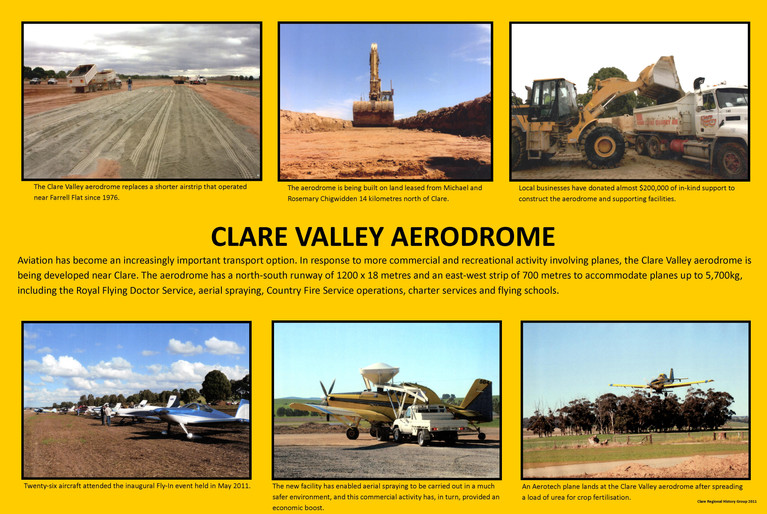 45. Clare Aerodrome Poster
