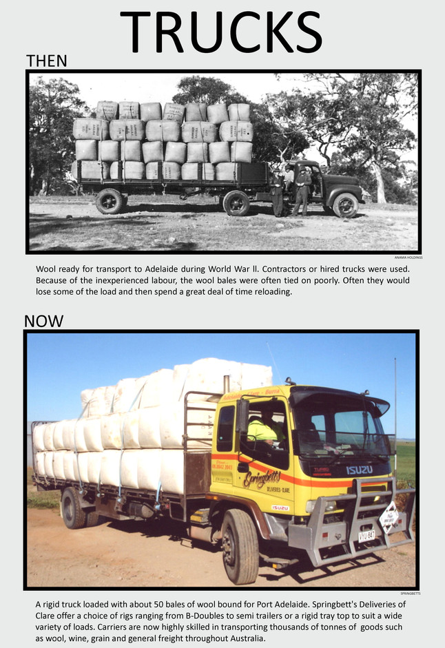 39. Trucks with Wool poster