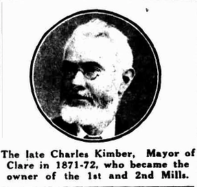 The late Charles Kimber, Mayor of Clare