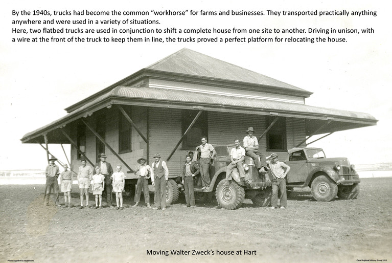 41. House on Trucks Poster