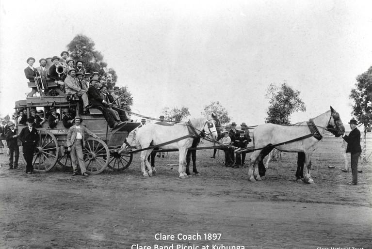 16. Clare Band Picnic at Kybunga 1897
