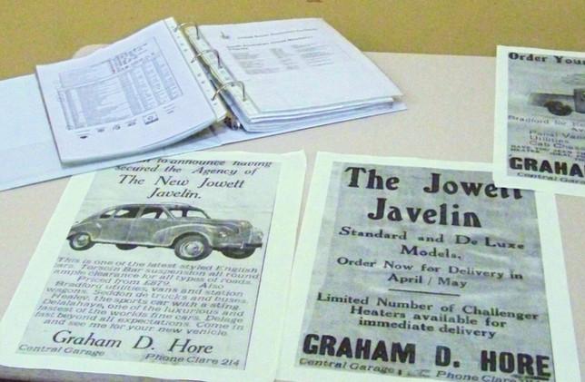Jowett Javelin released 1950