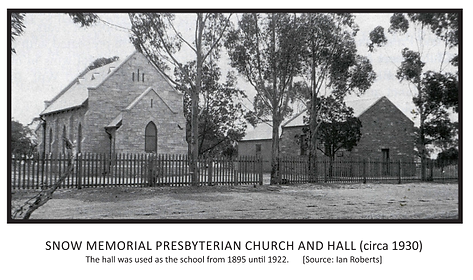 Snow Memorial Presbyterian Church and Ha