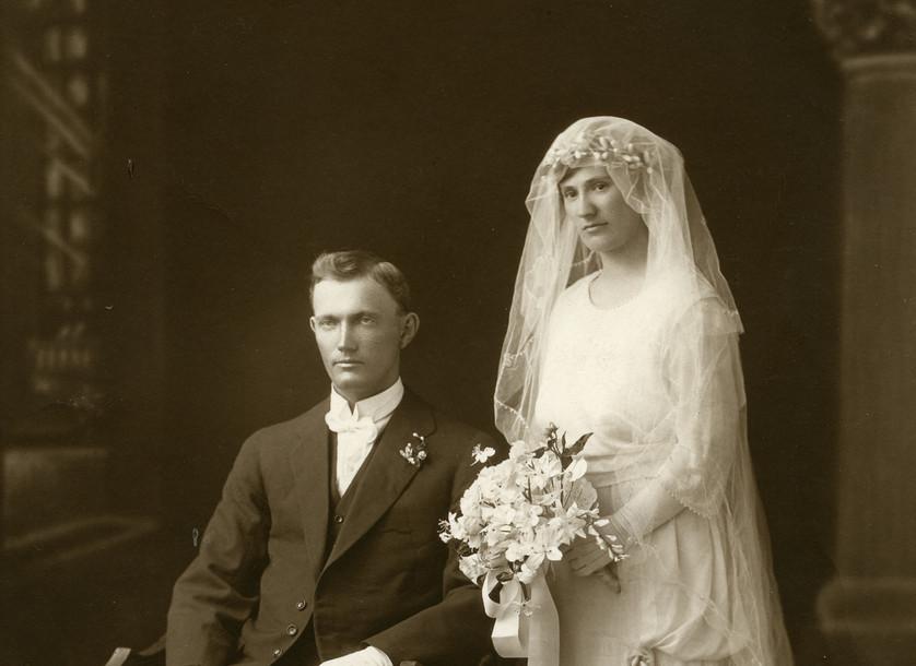 ScanWedding Of Alexander Lyell McEwin to Dorothy