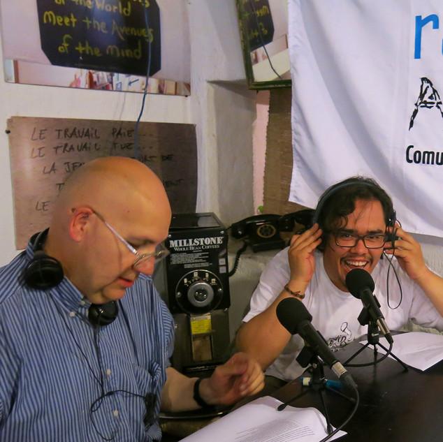 Radio ABierta en el Café