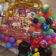 Hello Divine 90s Themed Balloons