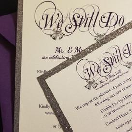 Hello Divine Wedding Invite 3