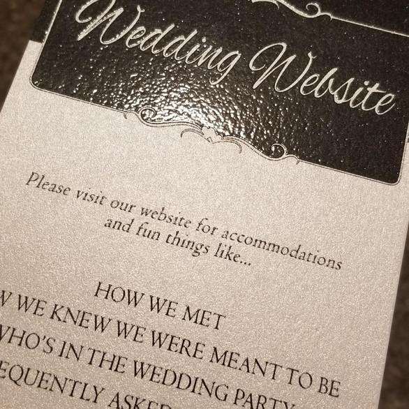 Hello Divine Wedding Invite 1