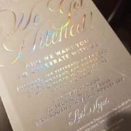 Hello Divine Holographic Invitations