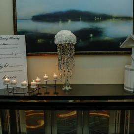 Hello Divine Wedding Reception Table