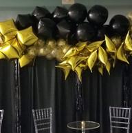 Hello Divine Black & Gold Balloon Garland