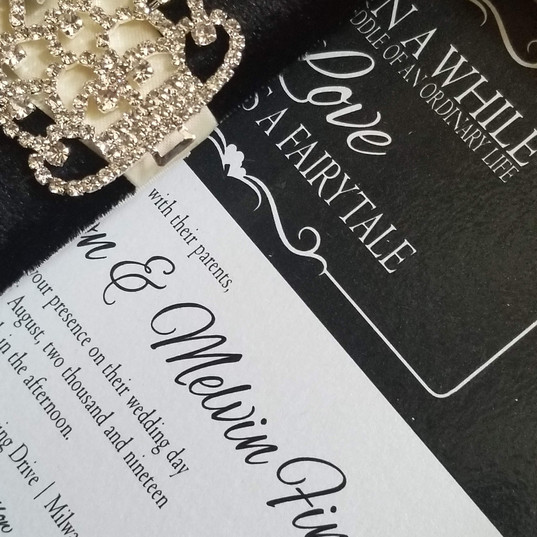 Hello Divine Wedding Invite