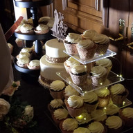 Hello Divine Wedding Dessert Table