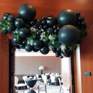 Hello Divine Balloon Arch