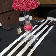 Hello Divine Party Pink Flower Centerpiece