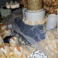 Hello Divine Birthday Cake Table