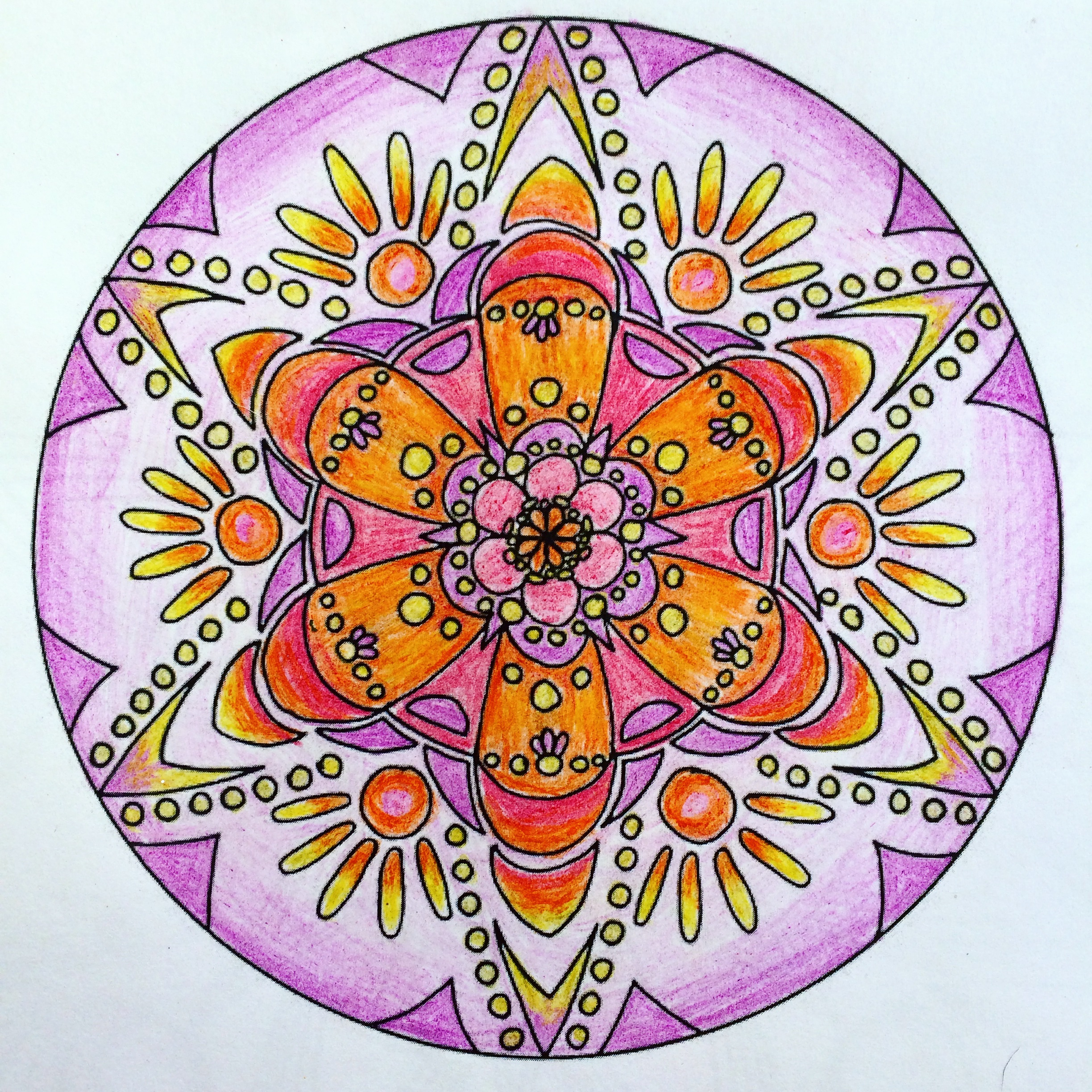 coloring mandala meditation naturally ashley