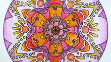 Coloring Mandala Meditation