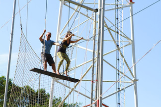I can Fly! Flying Trapeze in Costa Rica