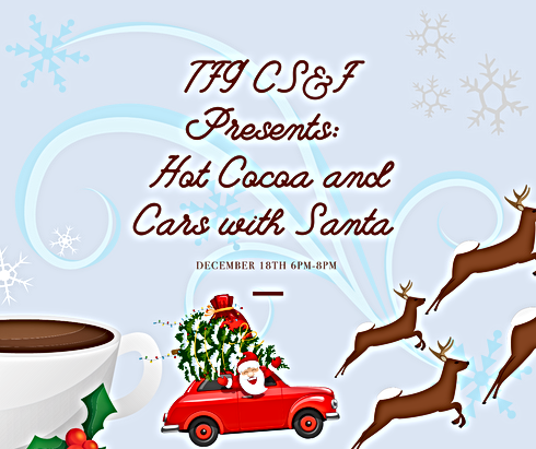 TFG CS&F Presents Hot Cocoa and Cars wit