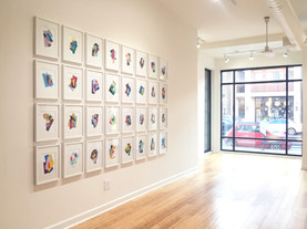 Exhibition View @ Kruger Gallery Chicago