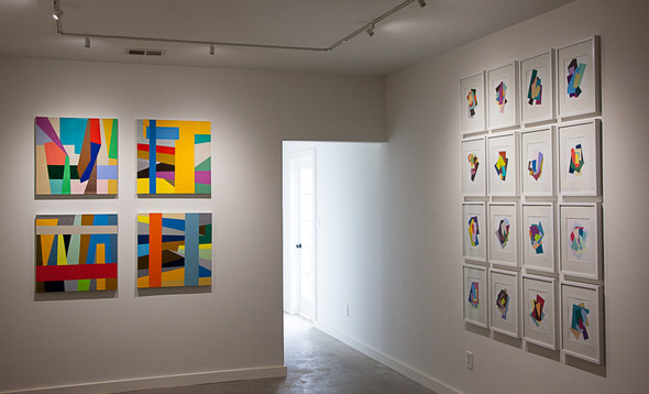 Exhibition View @ Kruger Gallery Marfa