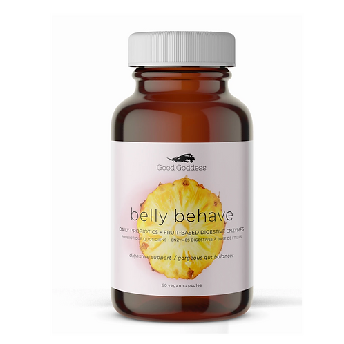 Good Goddess Belly Behave Digestive Enzyme + Probiotic