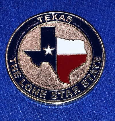 Texas Challenge Coin - State Seal of Texas