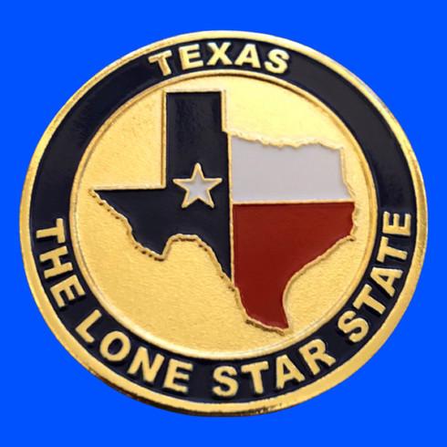 Texas Challenge Coins