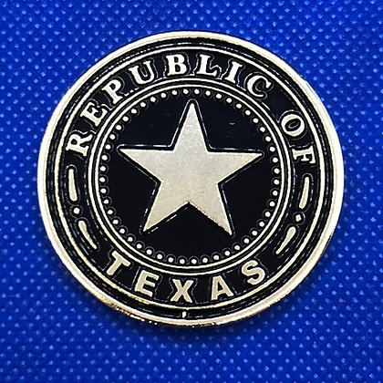 Texas Challenge Coin - Seal of The Republic of Texas