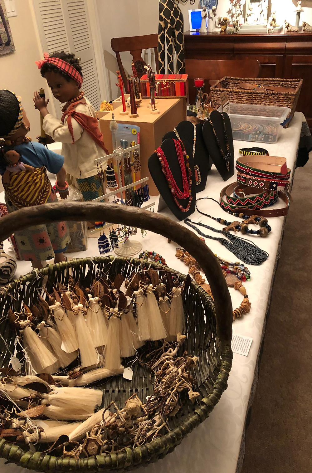 Handmade crafts from Kenya