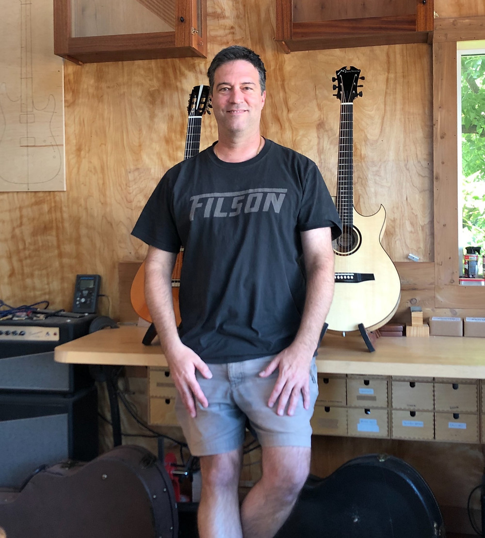 Stephen Marchione, owner of Marchione Guitars