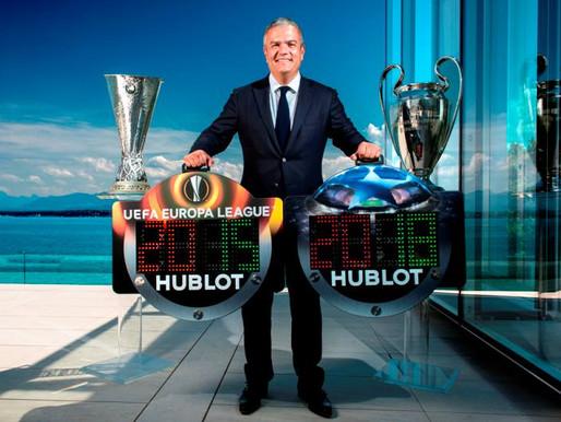 HUBLOT投入歐洲足壇