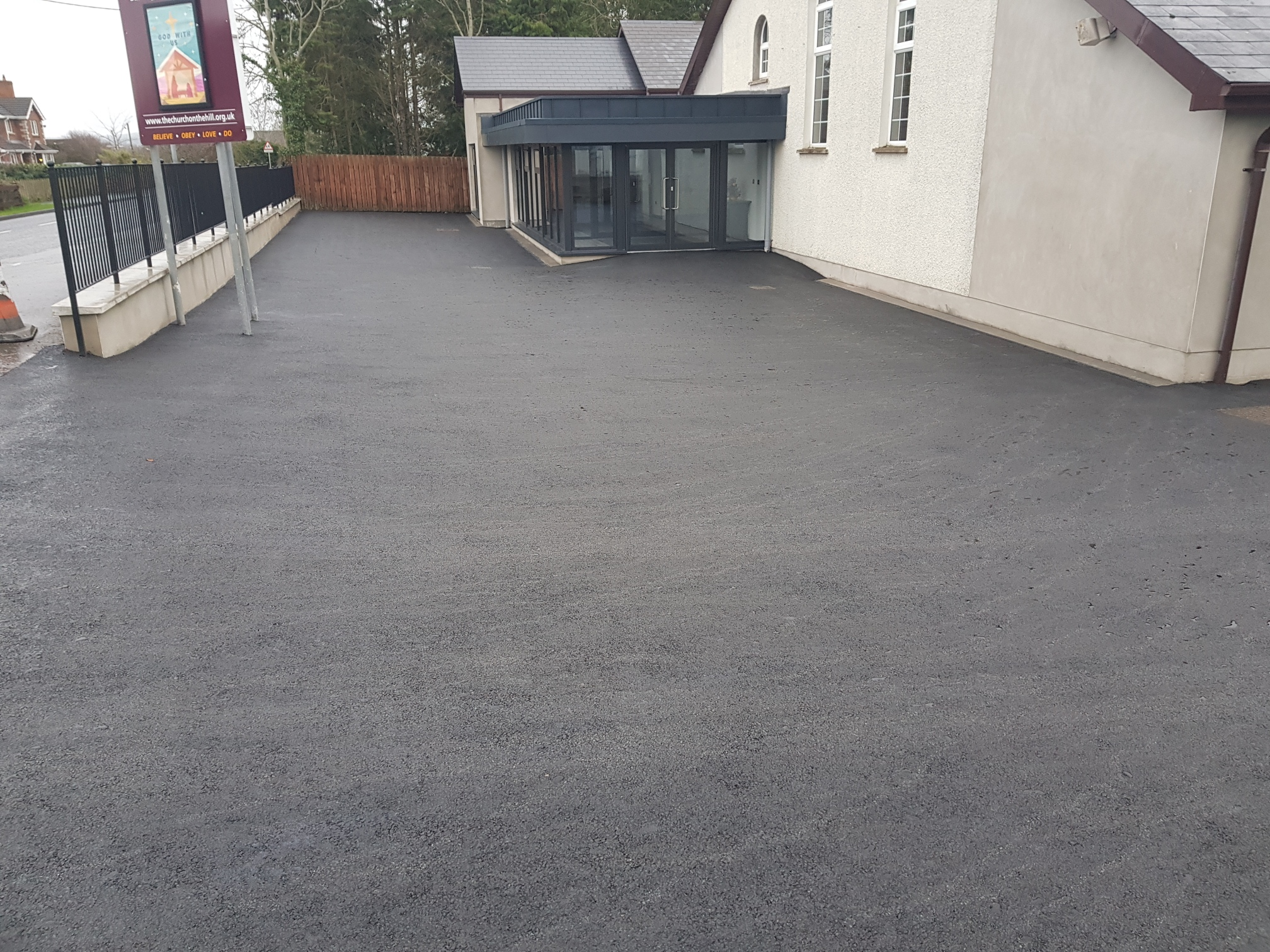Commercial surfacing 10mm Bitmac