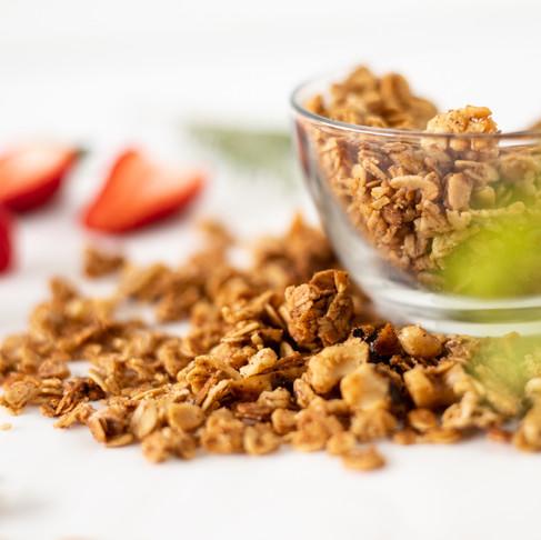 Vanilla Nut Granola