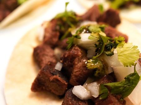 "Beef Tongue Tacos (""Lengua"")"