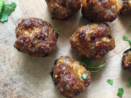 Indian Spiced Lamb Meatballs in Masala