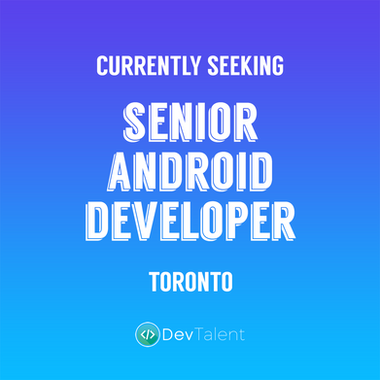 Senior Android Developer - DevTalent