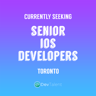 Senior iOS Developer - DevTalent