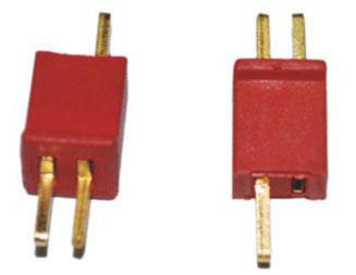 B-015 Mini T Plug Connector For MCPX H377 WLtoys V977 Mini SUPER CP