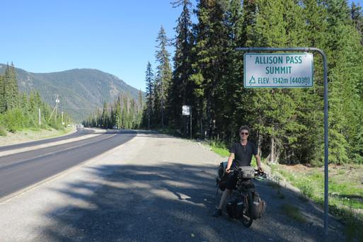 1342m - Allison Pass, BC Canada